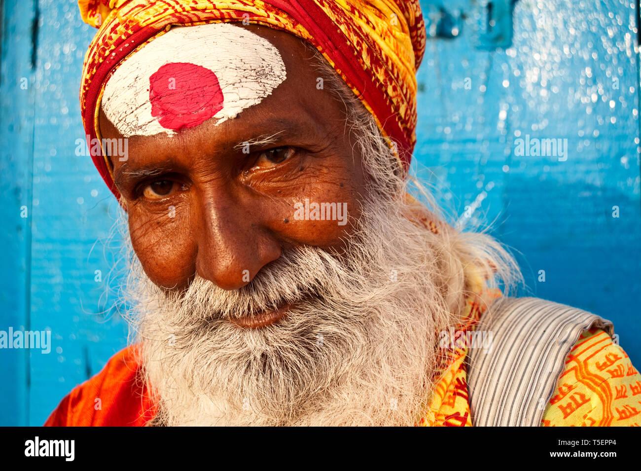 Sadhu ( India) - Stock Image