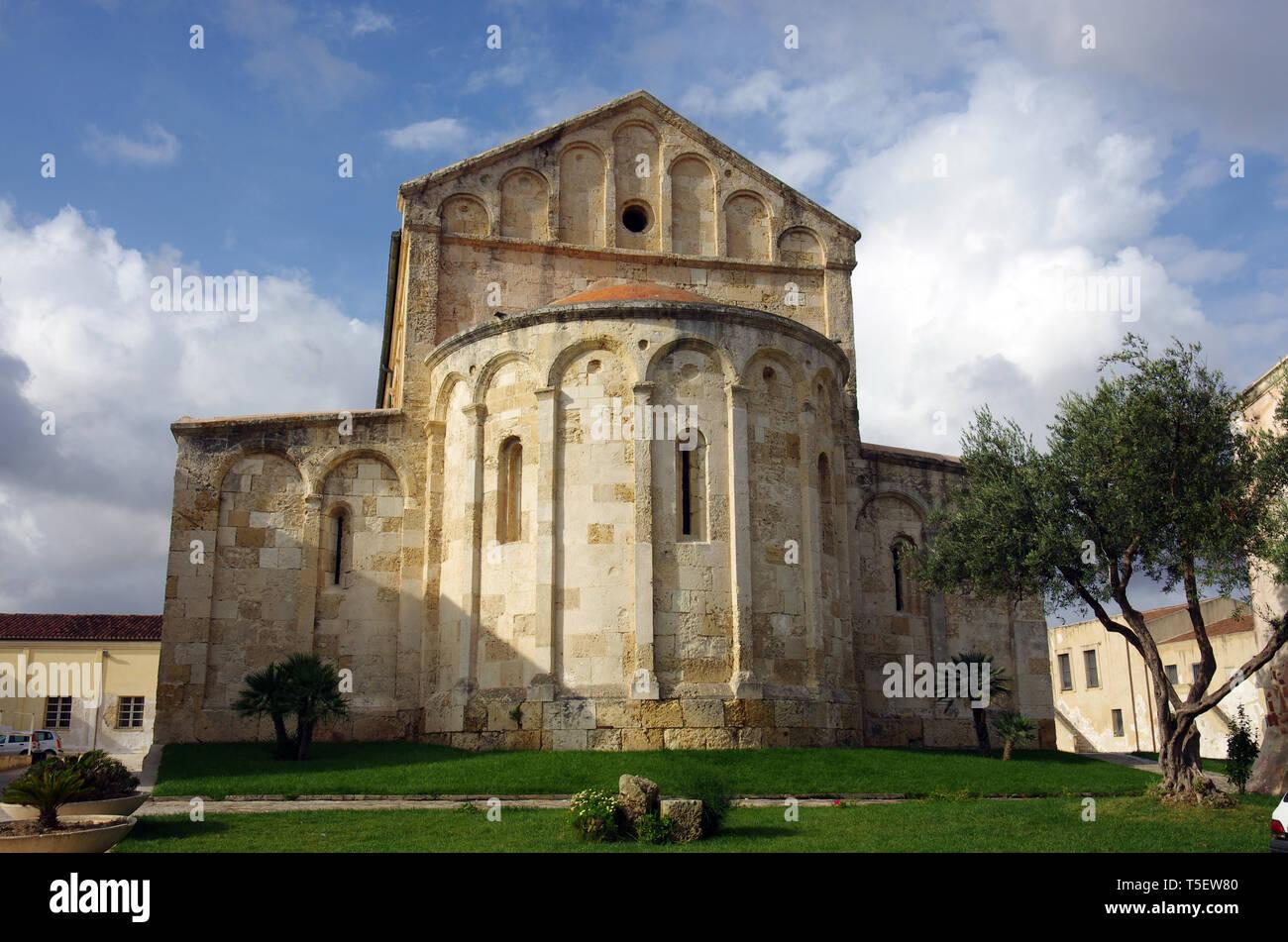 Porto Torres Sardinia Italy San Gavino Romanesque Church