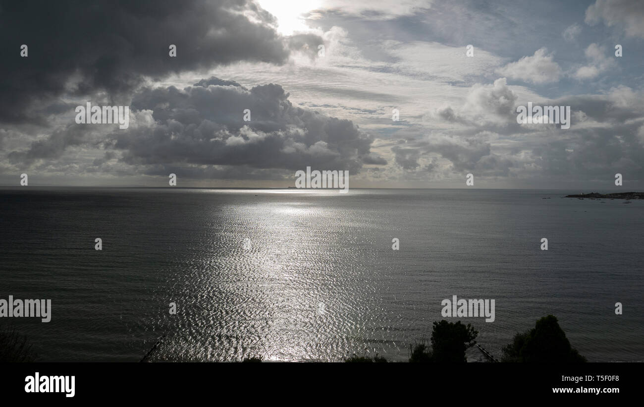 Cloud and sea scapes - Stock Image