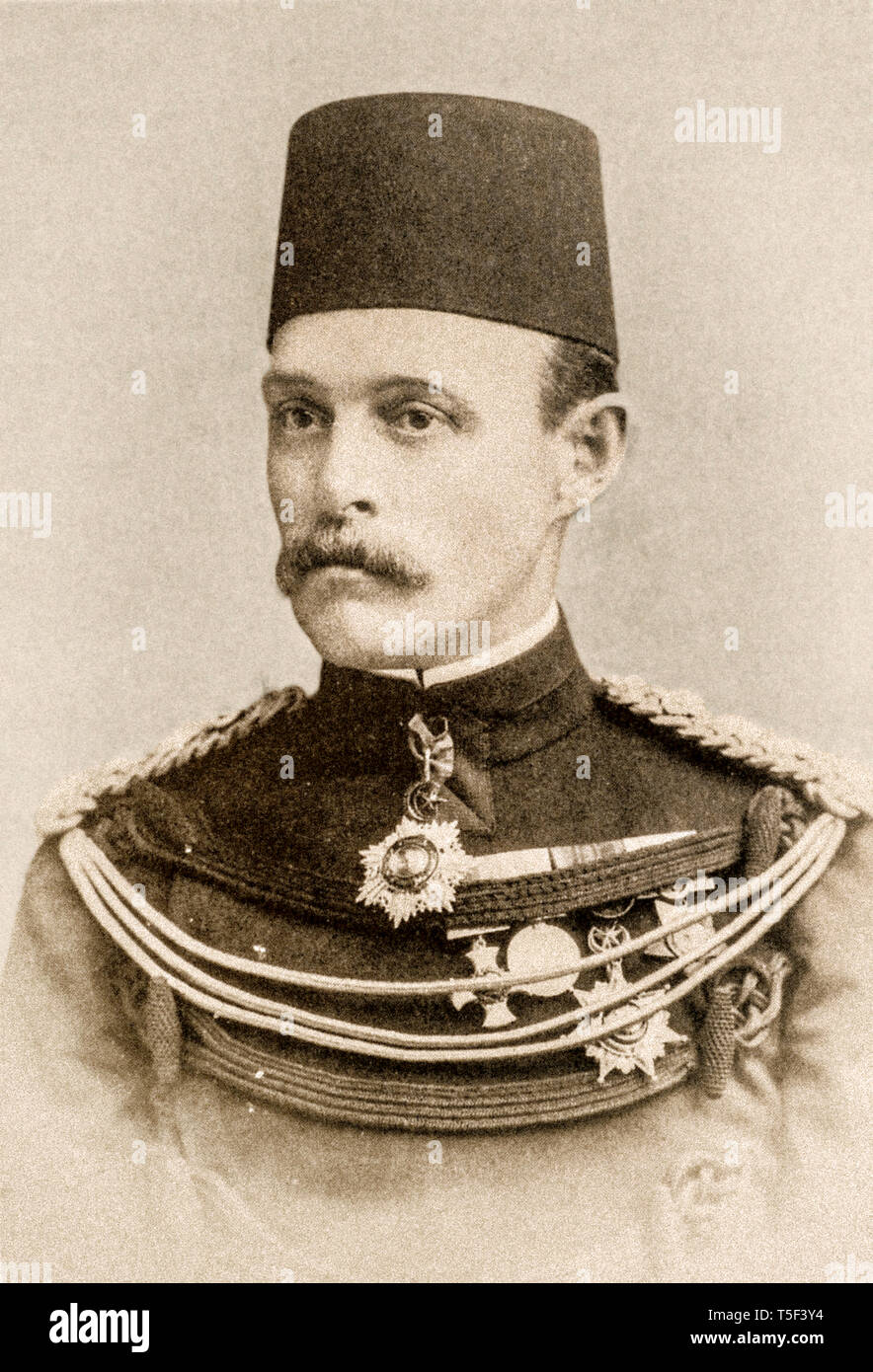 Mahdist war - Mayor General Sir Archibald Hunter 'second in command' of the Egyptian Army 1896-1898 - Stock Image
