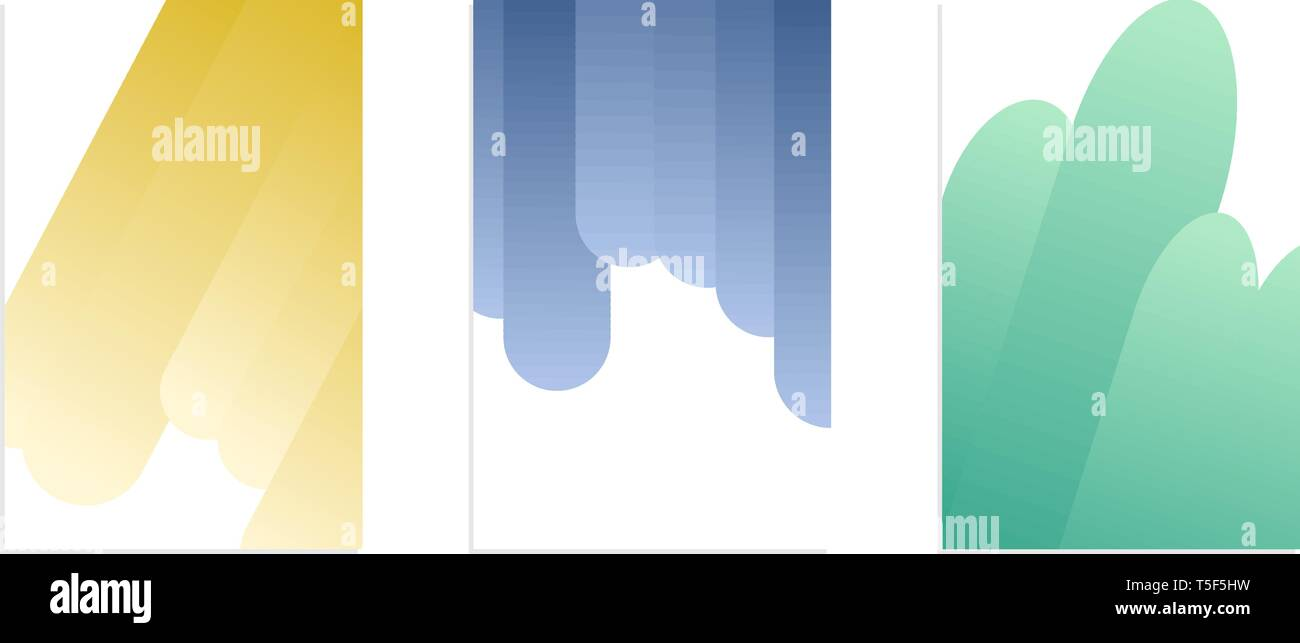 Vector Design Template Modren Abstract Gradient Banner Copy