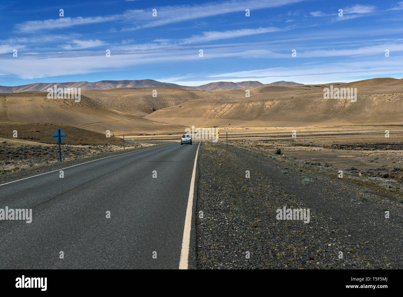 the ruta 40, Argentina - Stock Image
