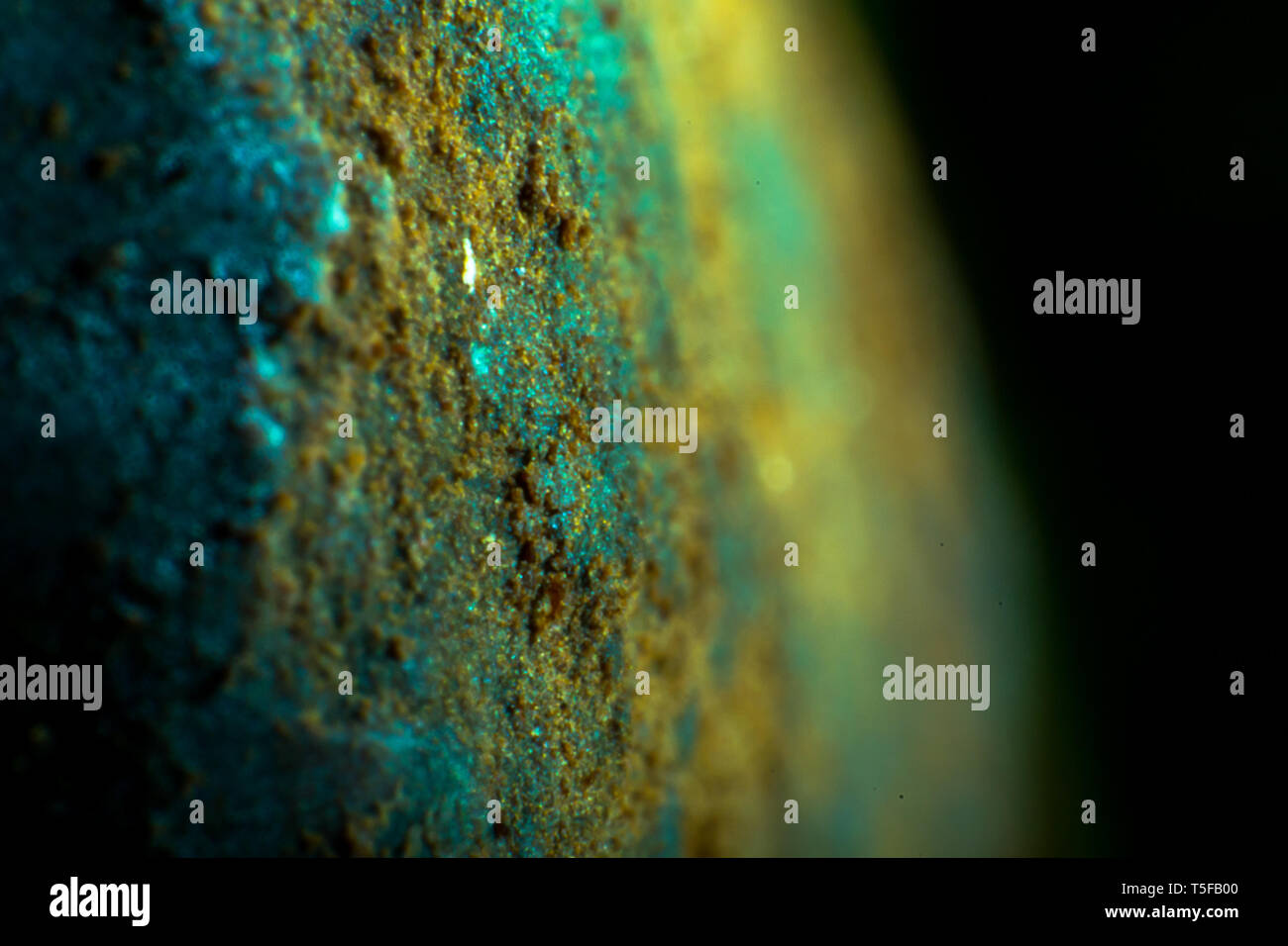 satellite view planet abstract - Stock Image