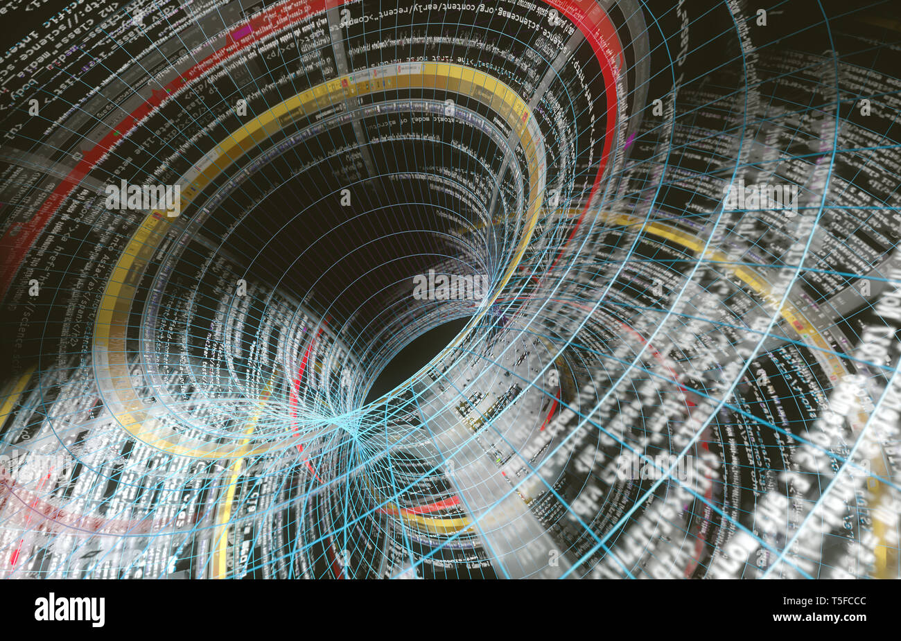 Wallpaper Of Tech Concept Pattern And Big Data Structurenet And