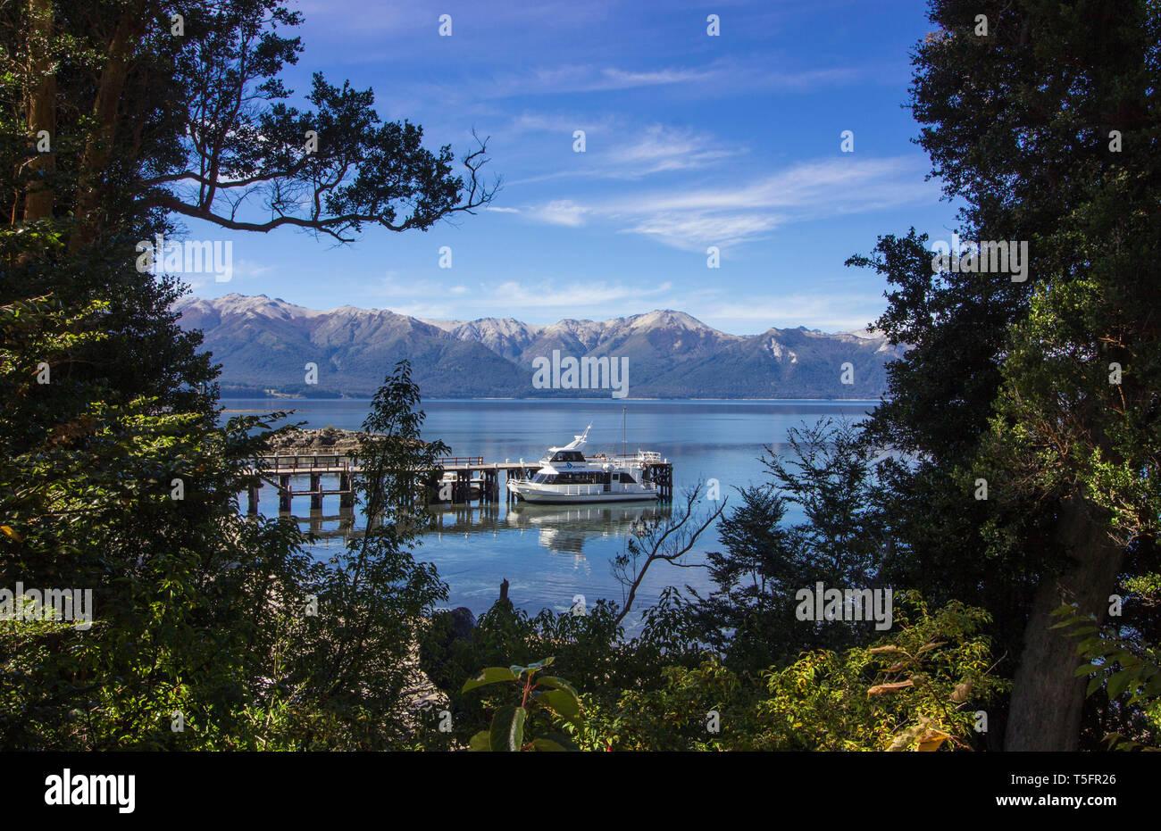 Ferry atl Los Arrayanes - Stock Image