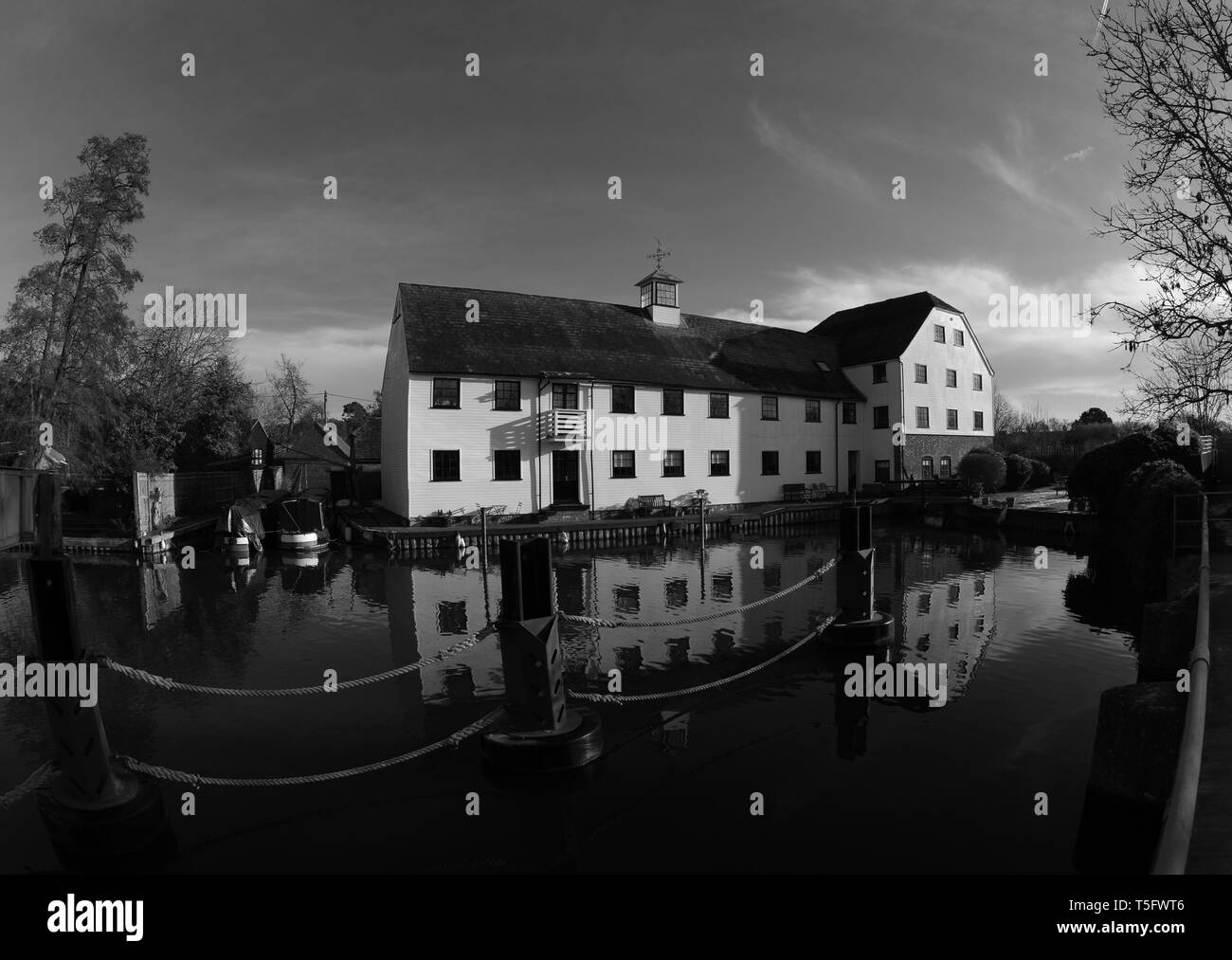 Hambleden Mill. - Stock Image