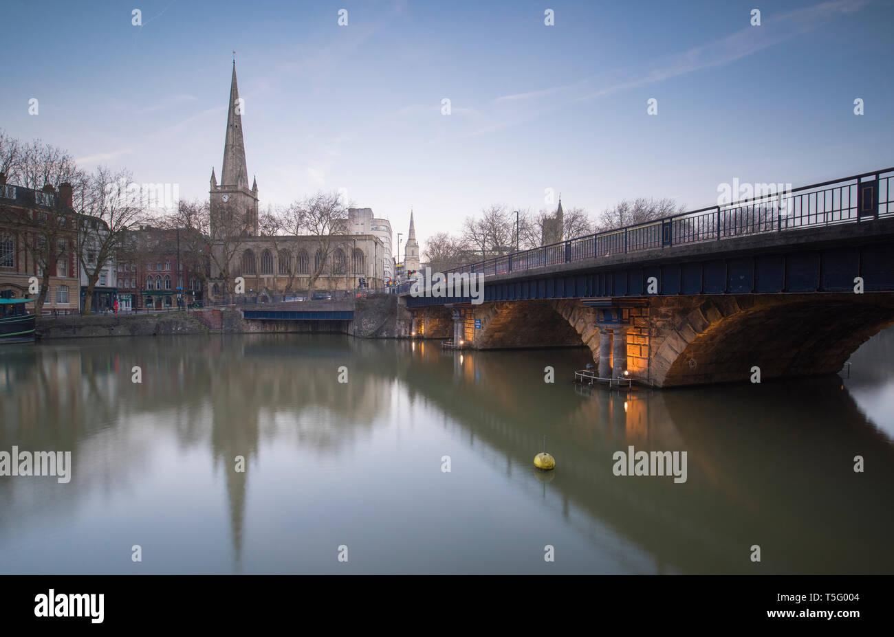 Bristol Bridge Beata Cosgrove Photography - Stock Image