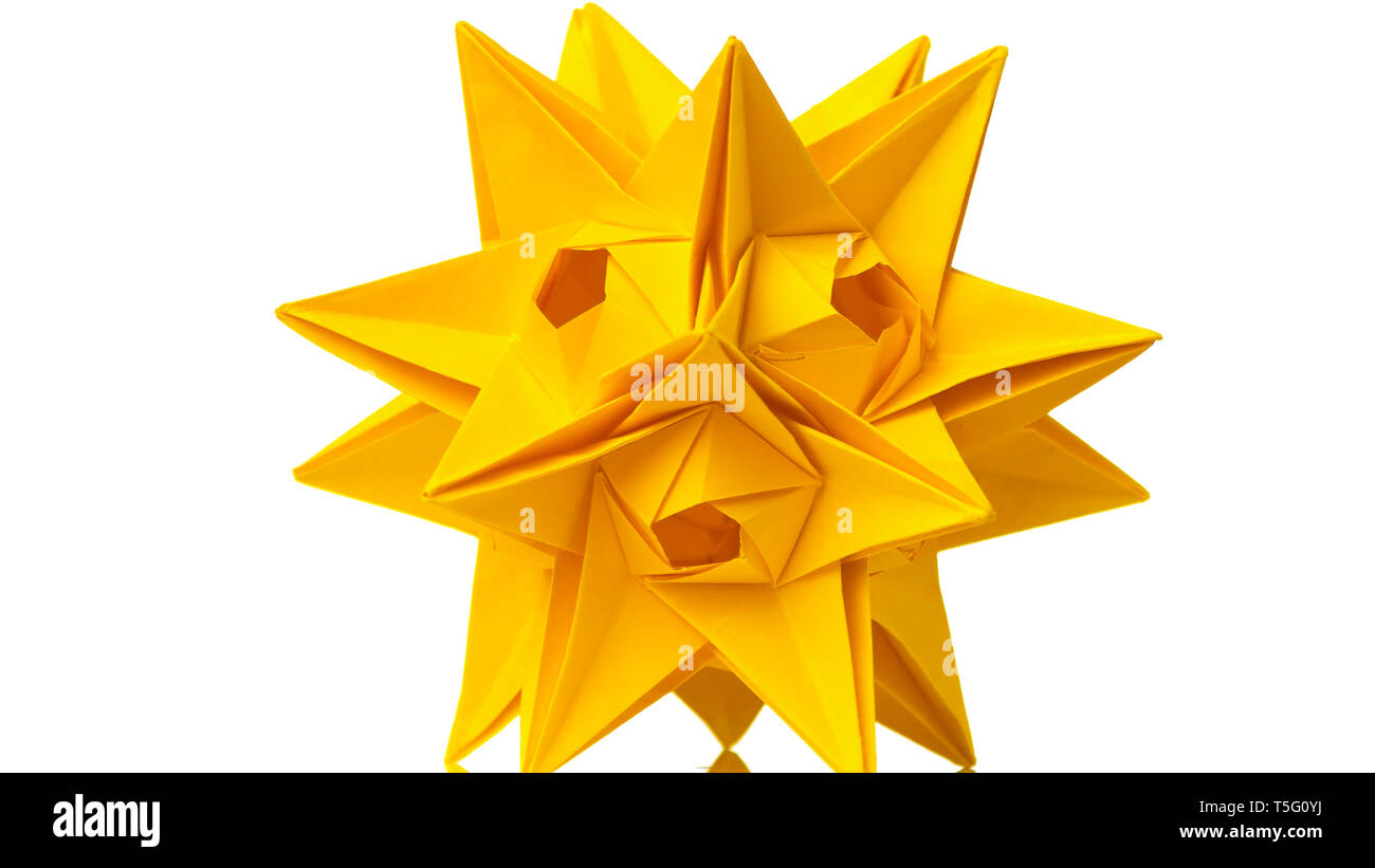 How to Make a transforming origami spikey ball | Origami, Origami ... | 821x1300
