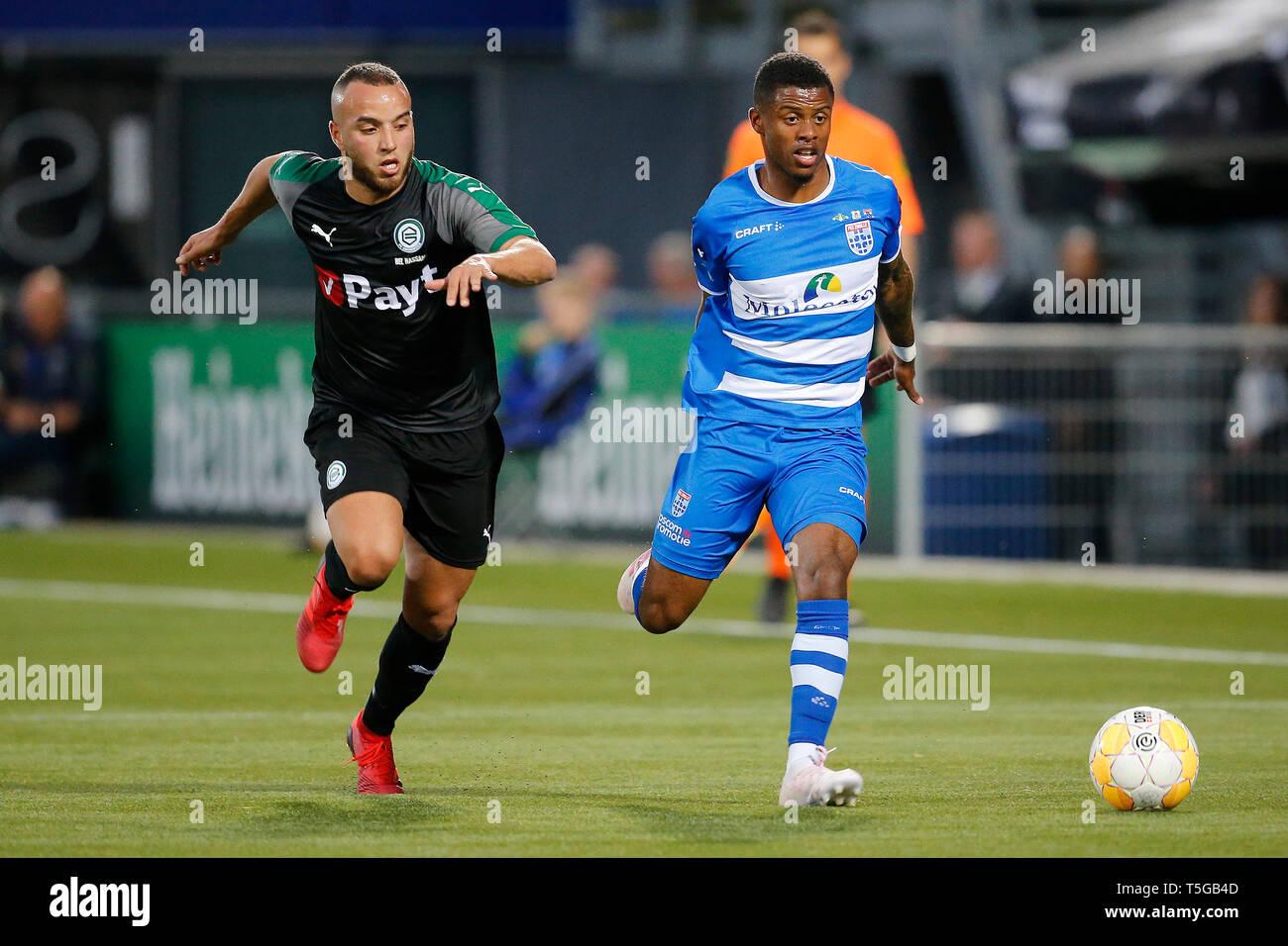 Iliass Bel Hassani.Zwolle 24 04 2019 Mac3park Stadium Season 2018 2019