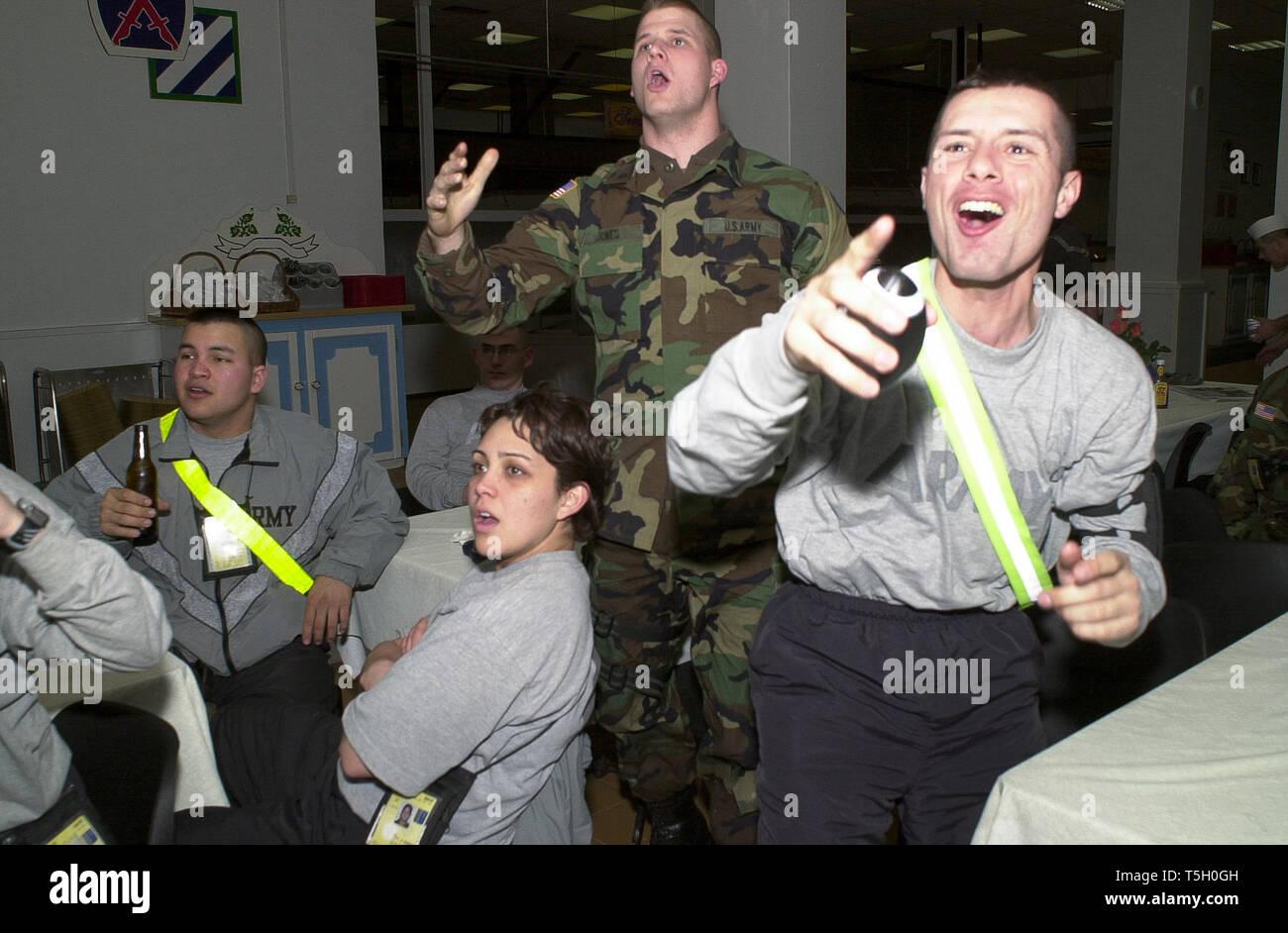 February 4, 2002 - Camp Monteith, Kosovo, Yugoslavia - Pfc