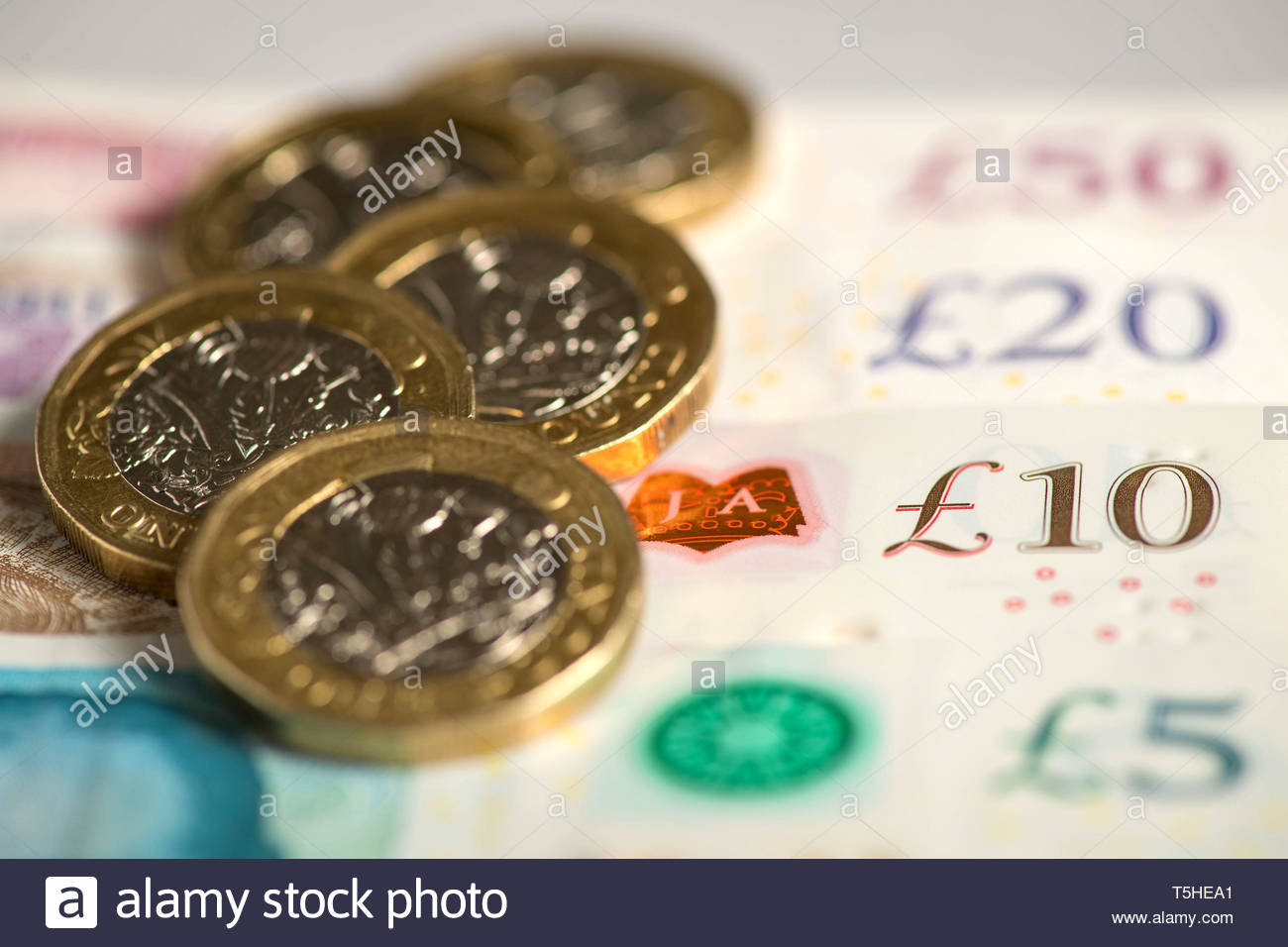 Embargoed to 0001 Friday April 26 File photo dated 03/07/18 of money.Citizens Advice calculates someone missing an average council tax payment of ??167 in the first month of the financial year could potentially see the size of their debt balloon to around ??2,065 in just nine weeks. - Stock Image