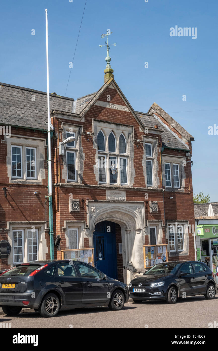 Feoffees town hall, in the town village of Colyton, Devon. UK Stock Photo