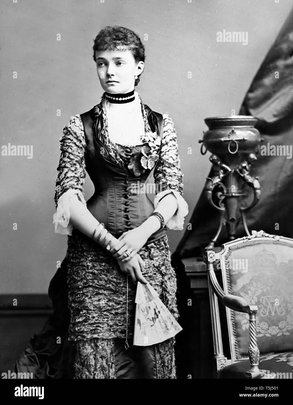 Princess Louise Margaret of Prussia - Stock Image