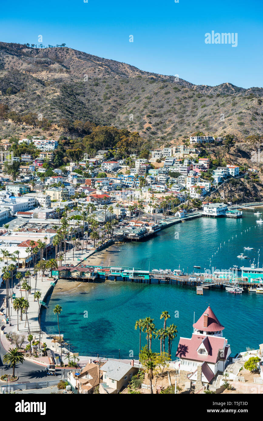 Usa California Channel Islands Santa Catalina Island