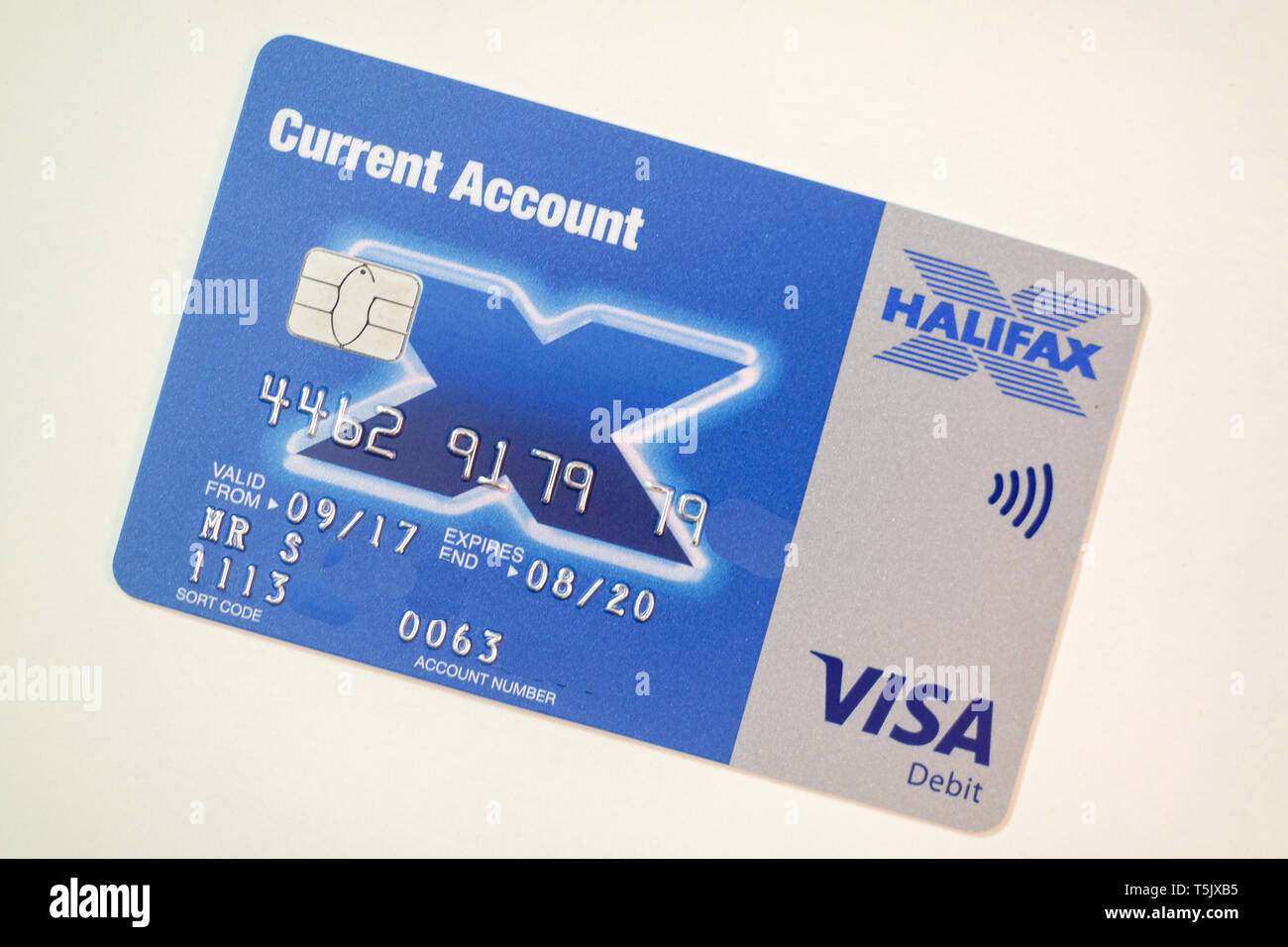Halifax Bank Card High Resolution Stock Photography And Images Alamy