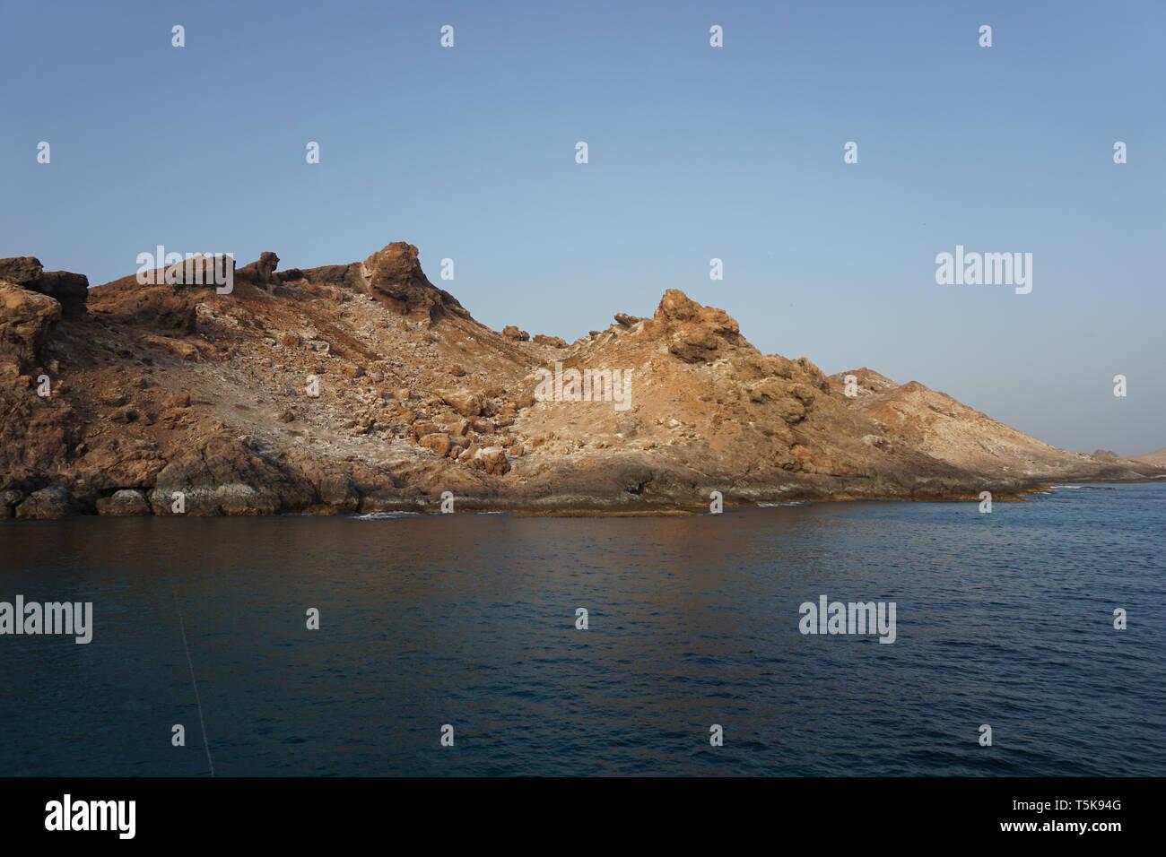 Hallaniyat Islands, Oman Stock Photo