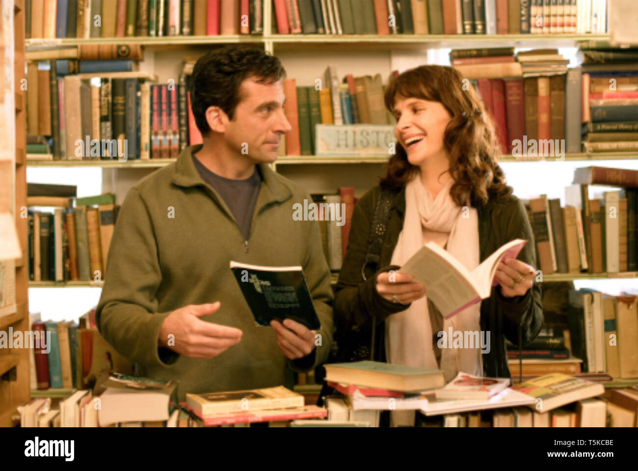 DAN IN REAL LIFE 2007 Touchstone film with Juliette Binoche and Steve Carell - Stock Image