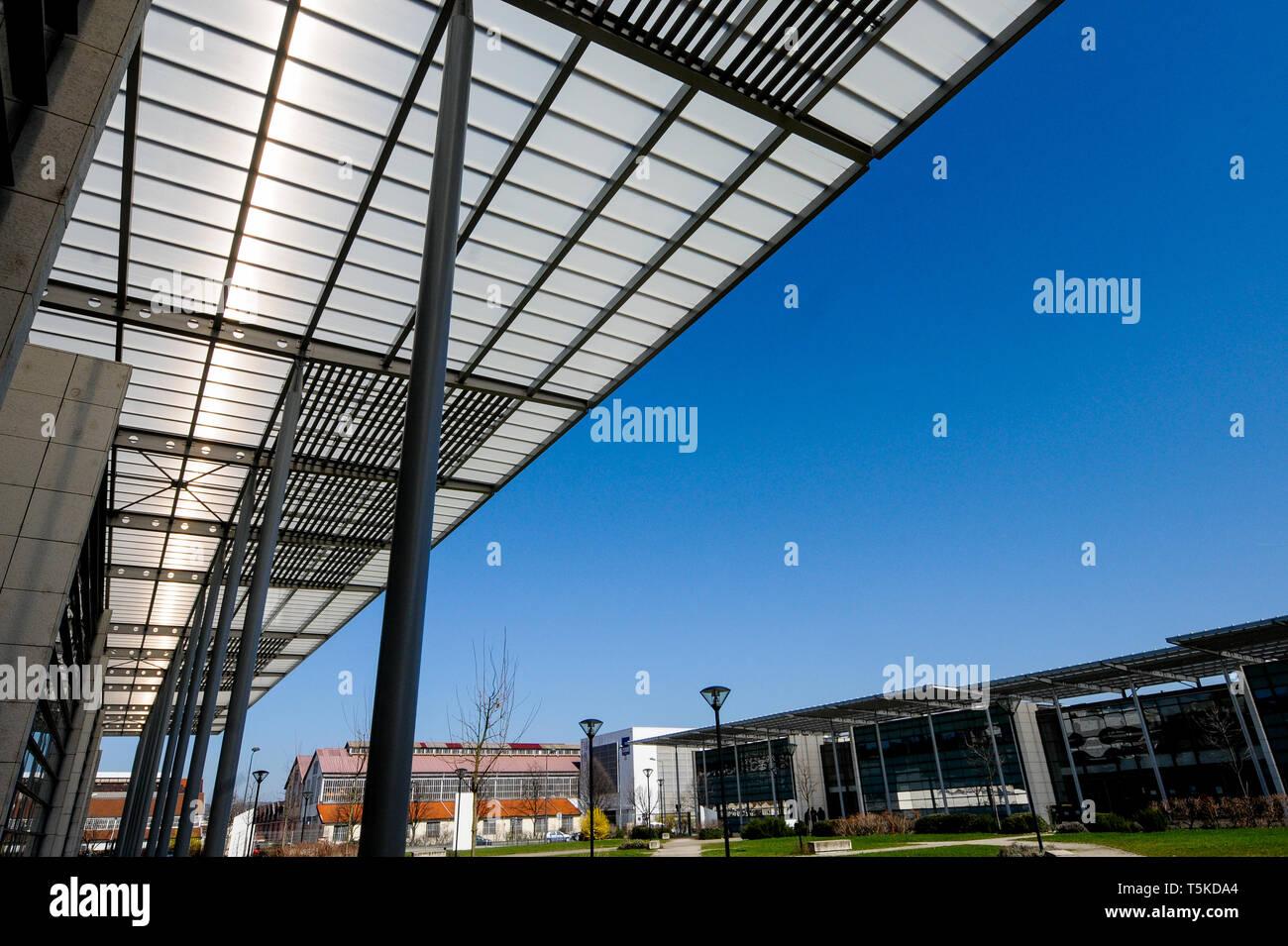 Jean Monnet University, Saint-Etienne, Loire, AURA Region, France - Stock Image