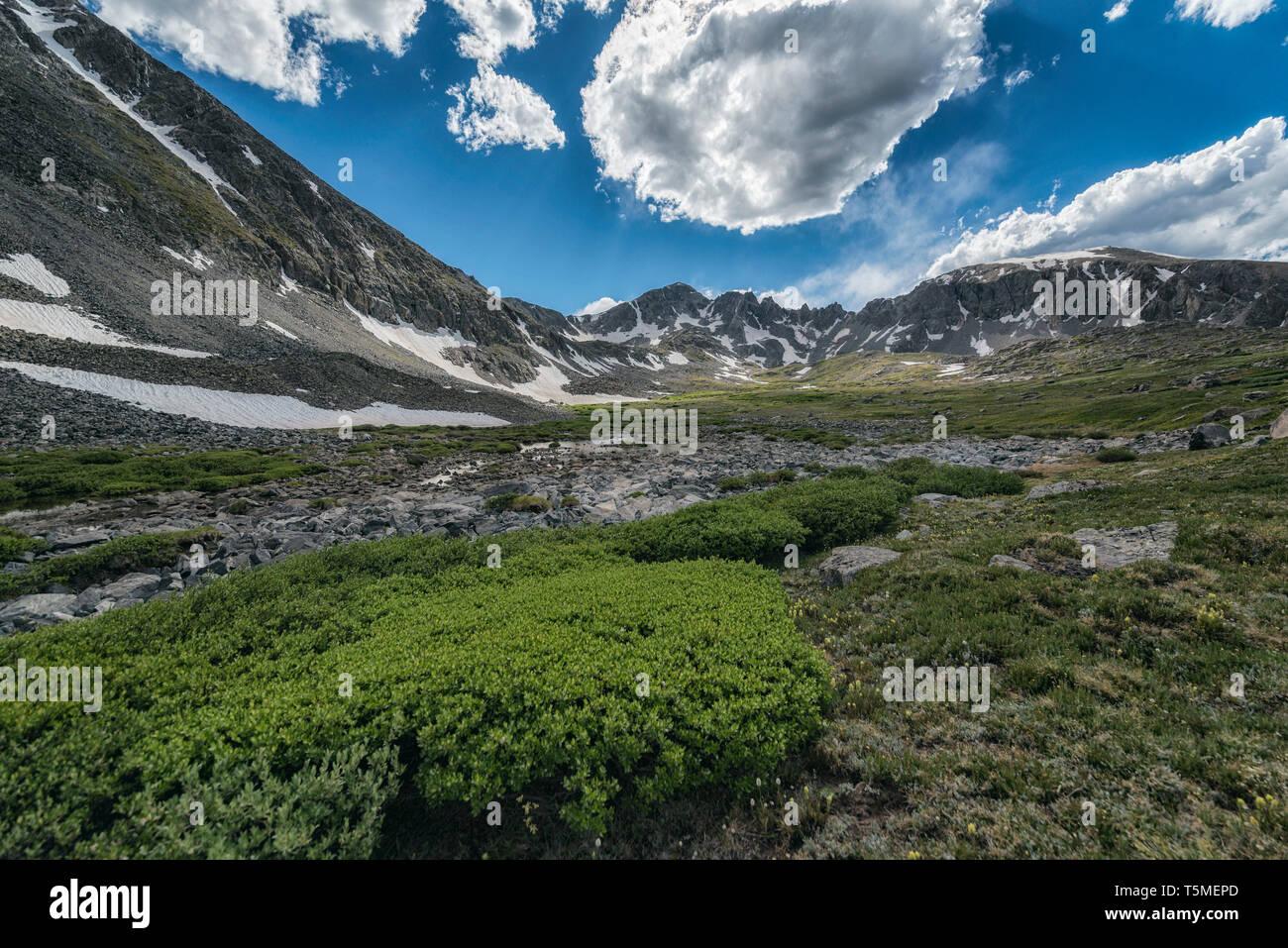 Landscape in Colorado - Stock Image