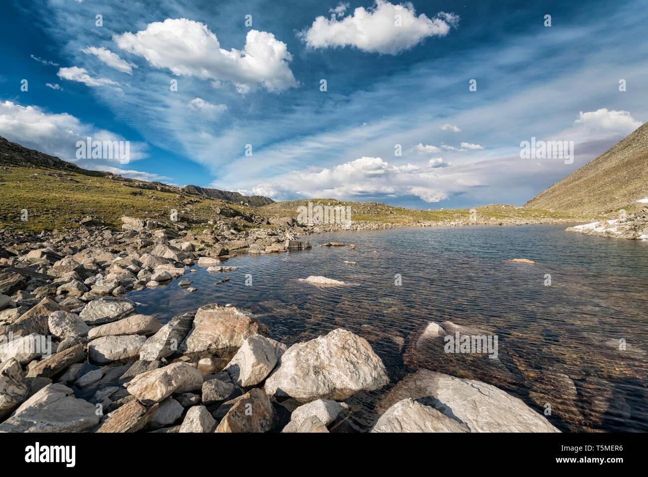 Lake in Colorado - Stock Image