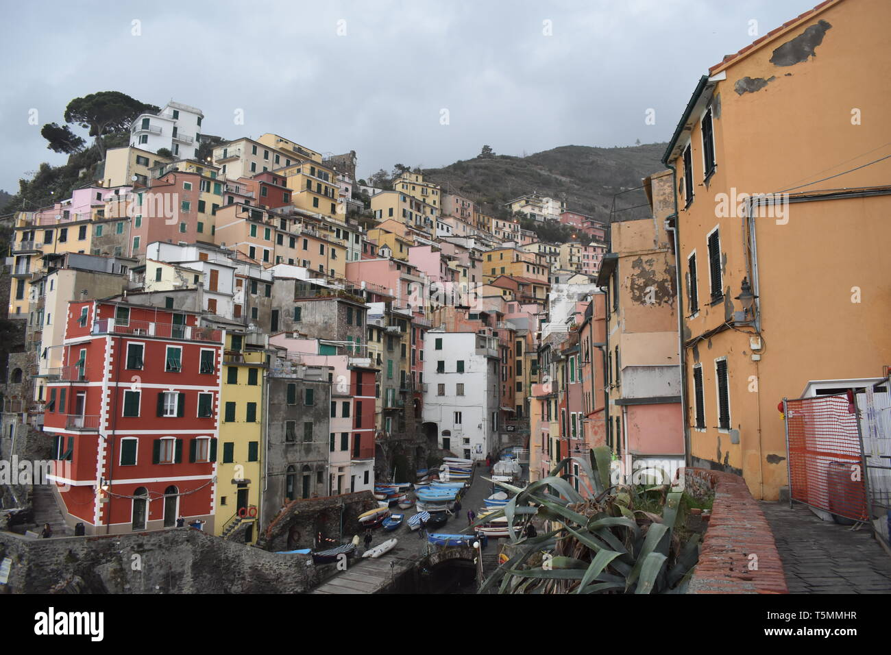 Cinqua Terra Viento, RIomaggiorie, Manarola, Italy Travel Italy Top 10 Best 10 Travel Europe Spectacular Images More of the Best Sea Views Nice Houses - Stock Image