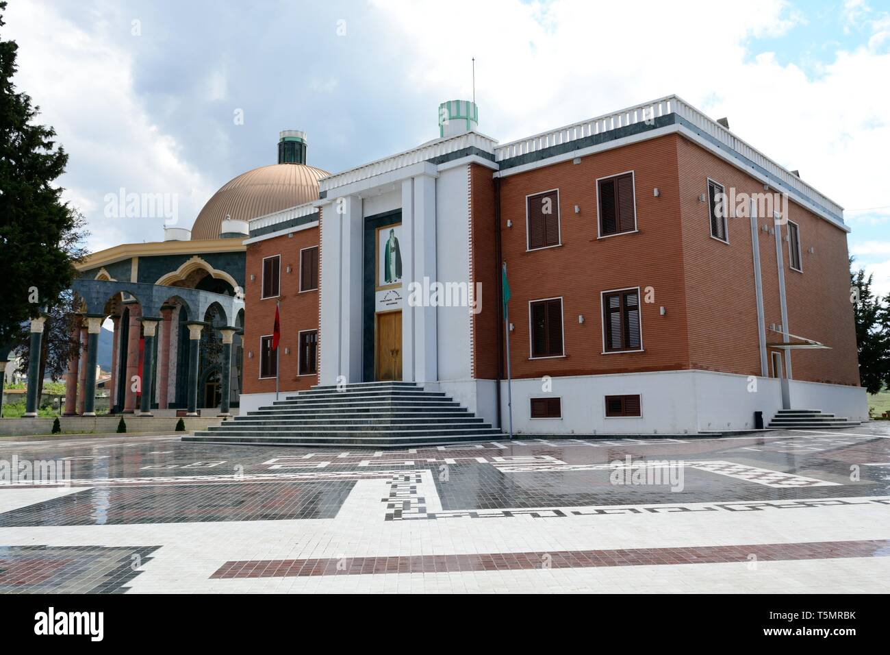 Bektashi World Centre Bektashi order Headquarters Tirano Albania - Stock Image