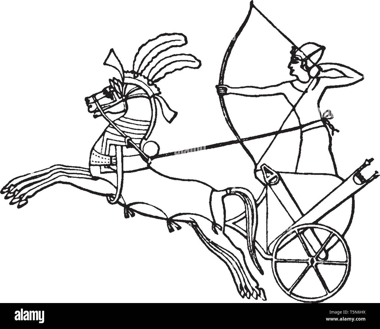 Egyptian War Chariot Was Certainly A Mode Of Transportation