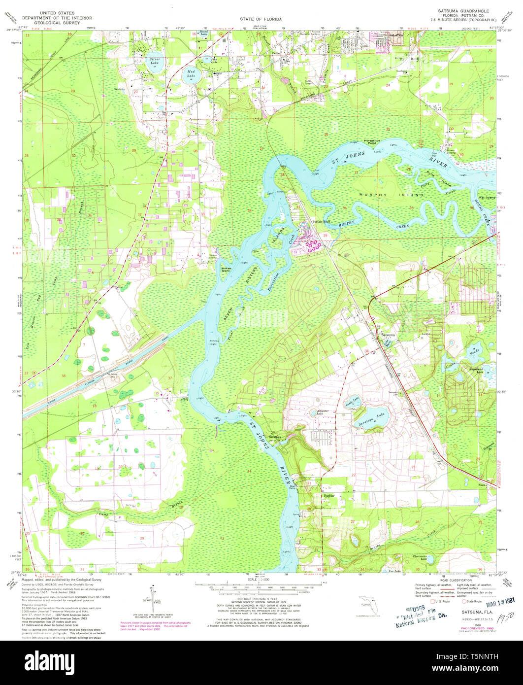 USGS TOPO Map Florida FL Satsuma 348451 1968 24000 ... Satsuma Florida Map on st. johns river florida map, huntington florida map, wimauma florida map, united states florida map, village of wellington florida map, fairhope florida map, central time zone florida map, sharpes florida map, decatur florida map, rodman reservoir florida map, pass a grille beach florida map, putnam hall florida map, drayton island florida map, foley florida map, selma florida map, zellwood florida map, mobile florida map, sumatra florida map, lake como florida map, spring hill florida map,