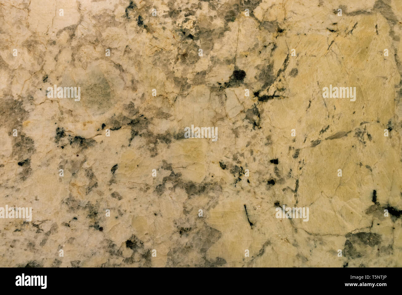 Granite table - Stock Image