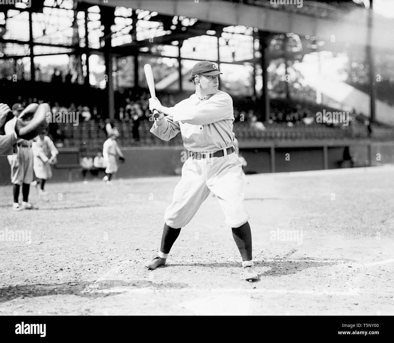 Cleveland Naps, 1913. - Stock Image