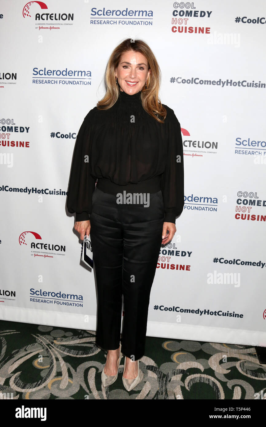 April 25, 2019 - Beverly Hills, CA, USA - LOS ANGELES - APR 25:  Peri Gilpin at the Cool Comedy, Hot Cuisine 2019 at the Beverly Wilshire Hotel on April 25, 2019 in Beverly Hills, CA (Credit Image: © Kay Blake/ZUMA Wire) - Stock Image