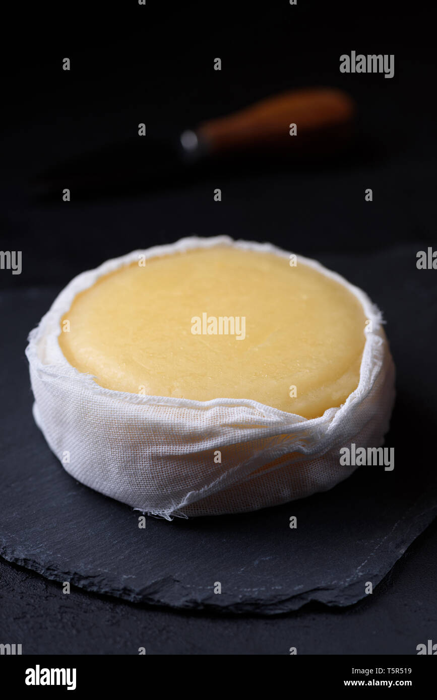 Soft cheese - Stock Image
