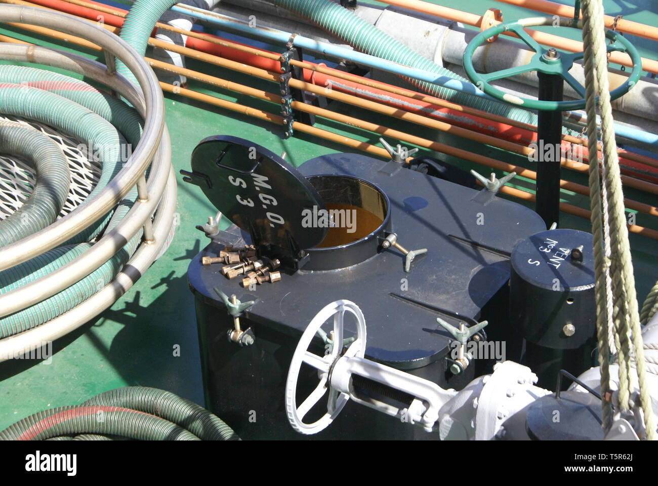Bunker Fuel Stock Photos & Bunker Fuel Stock Images - Alamy