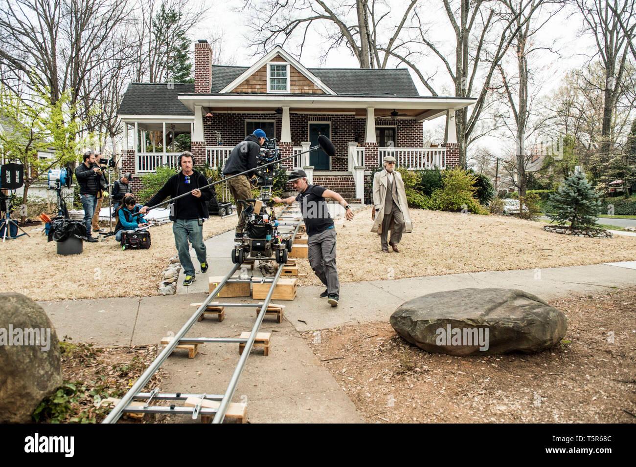 AMERICAN ANIMALS 2018 de Bart Layton Evan Peters. Prod DB ©Wilson Webb - Film4 - New Amsterdam Film Company - RAW / DR - Stock Image