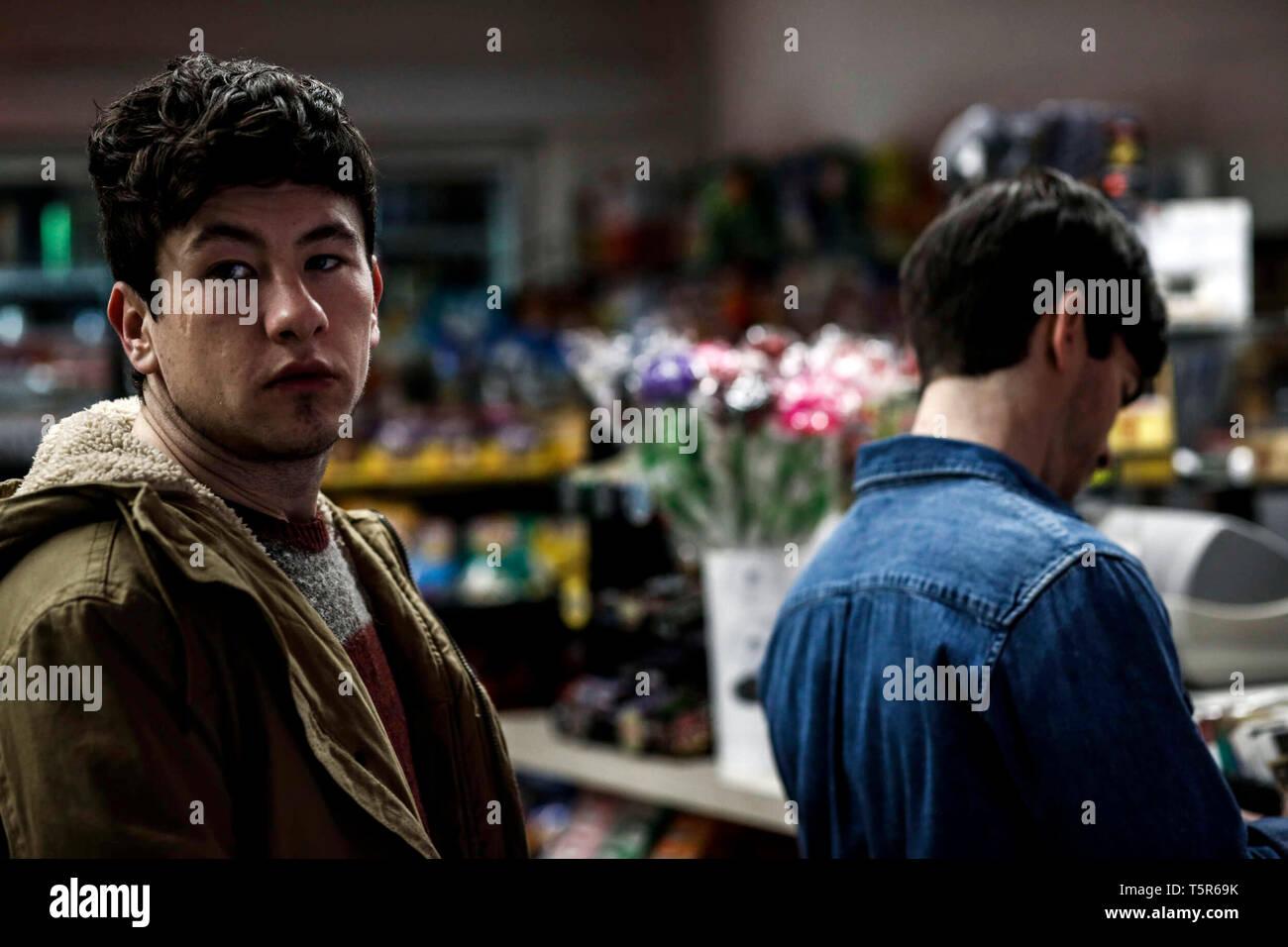AMERICAN ANIMALS 2018 de Bart Layton Barry Keoghan. Prod DB ©Wilson Webb - Film4 - New Amsterdam Film Company - RAW / DR - Stock Image