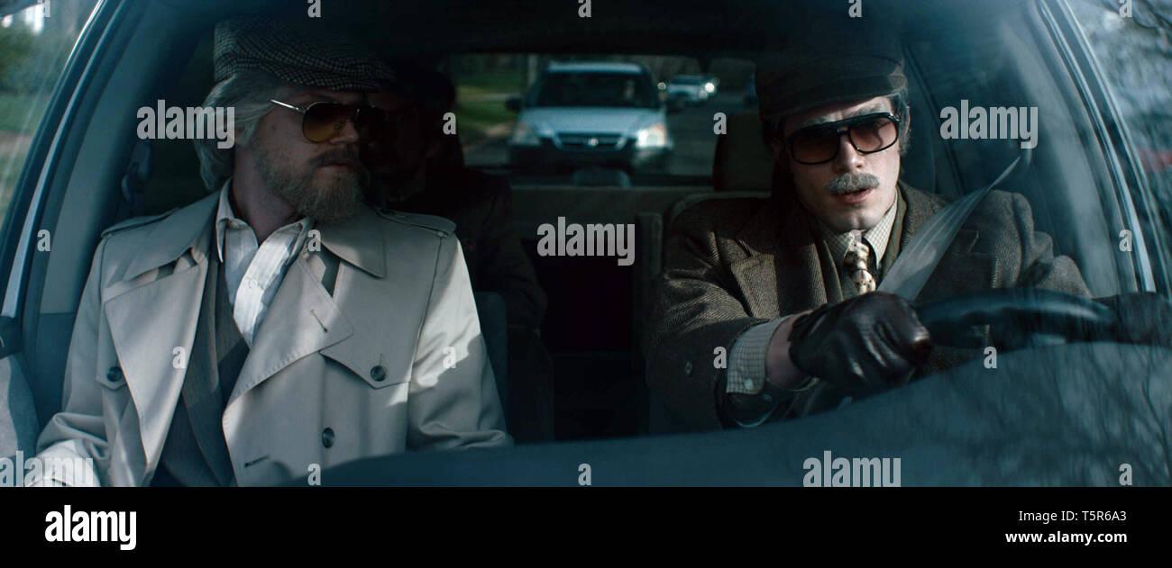AMERICAN ANIMALS 2018 de Bart Layton Evan Peters Blake Jenner. Prod DB ©Film4 - New Amsterdam Film Company - RAW / DR - Stock Image