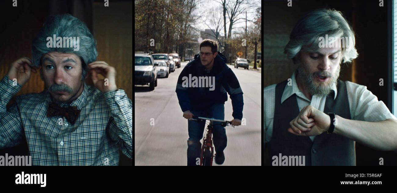 AMERICAN ANIMALS 2018 de Bart Layton Barry Keoghan Jared Abrahamson Evan Peters. Prod DB ©Film4 - New Amsterdam Film Company - RAW / DR - Stock Image