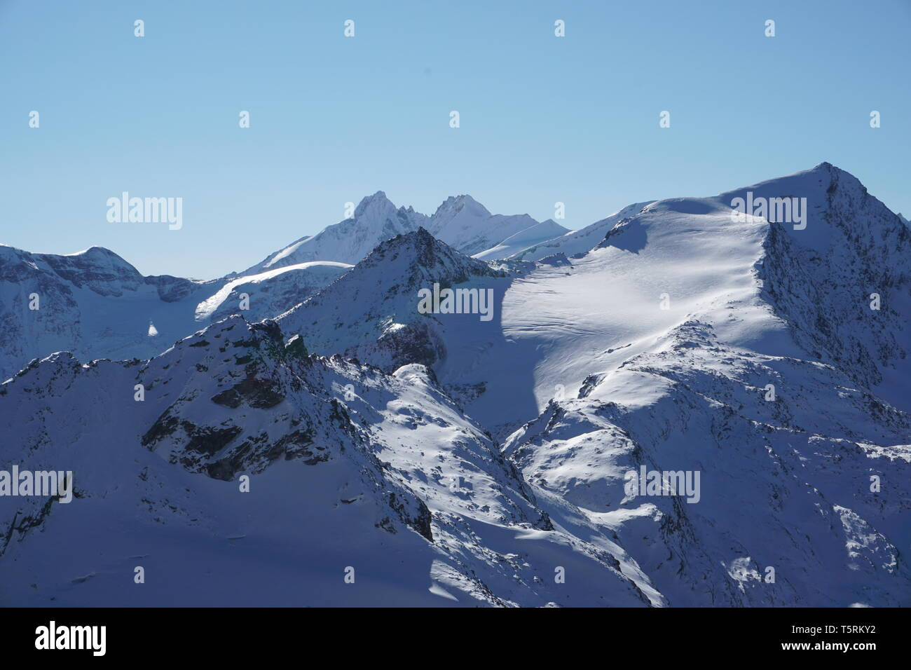 Winterwunderland   Wunderschöne Berglandschaft Stock Photo