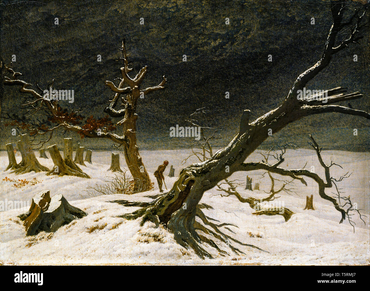 Caspar David Friedrich Stock Photos & Caspar David Friedrich