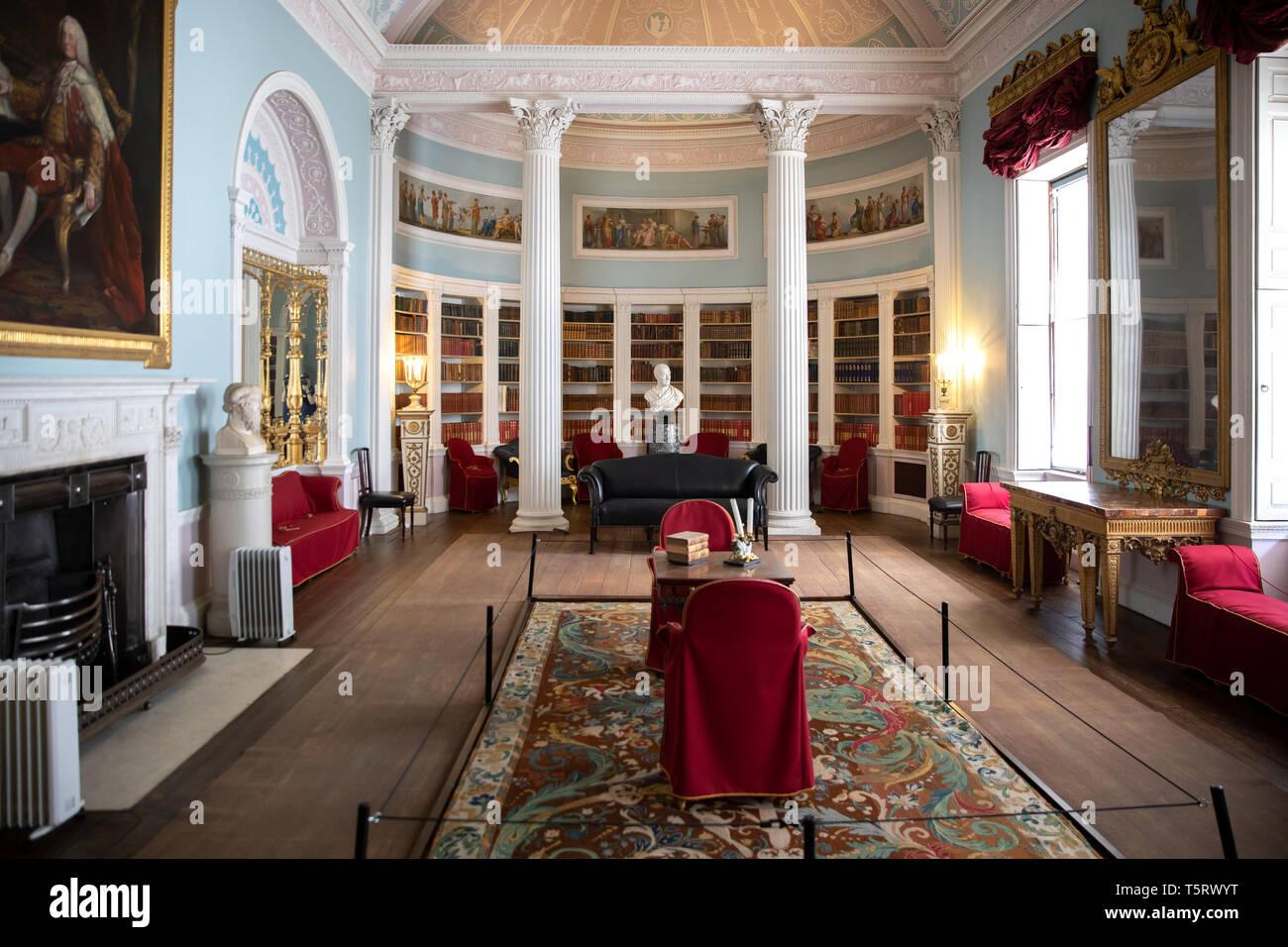 The Robert Adam Library, Kenwood House - Stock Image