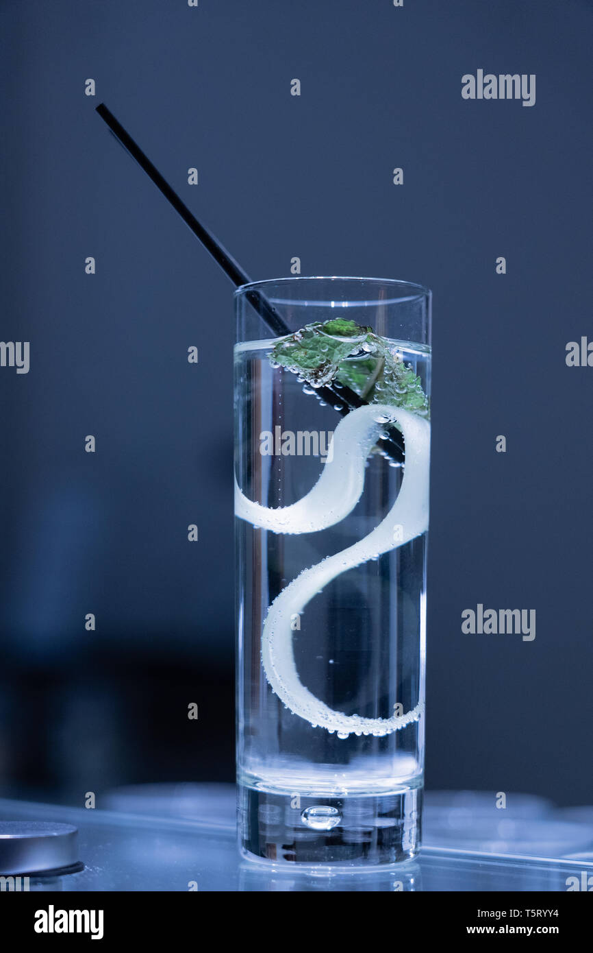 alcohalic drink at a celebration event - Stock Image