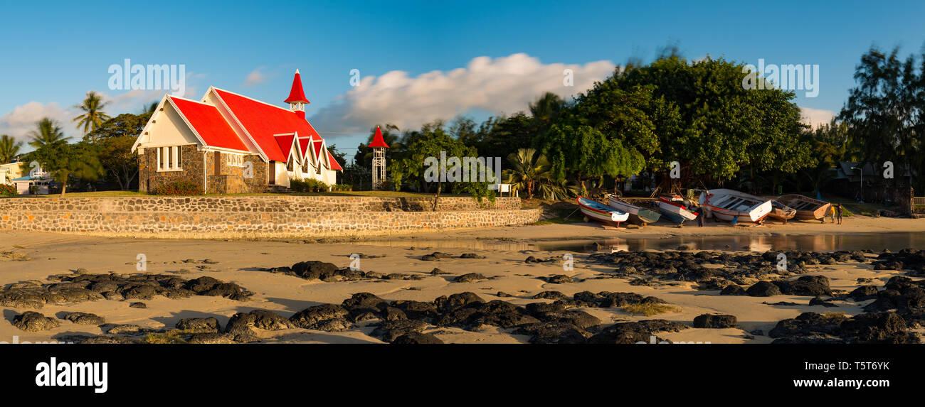 Mauritius Island Beach House Stock Photos & Mauritius Island