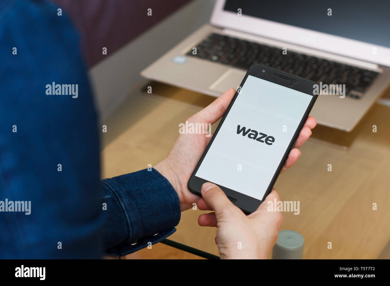 Waze Stock Photos & Waze Stock Images - Alamy