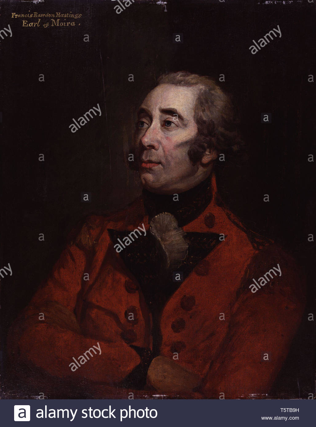 Francis Rawdon-Hastings, 1st Marquess of Hastings - Hugh Douglas Hamilton - Stock Image