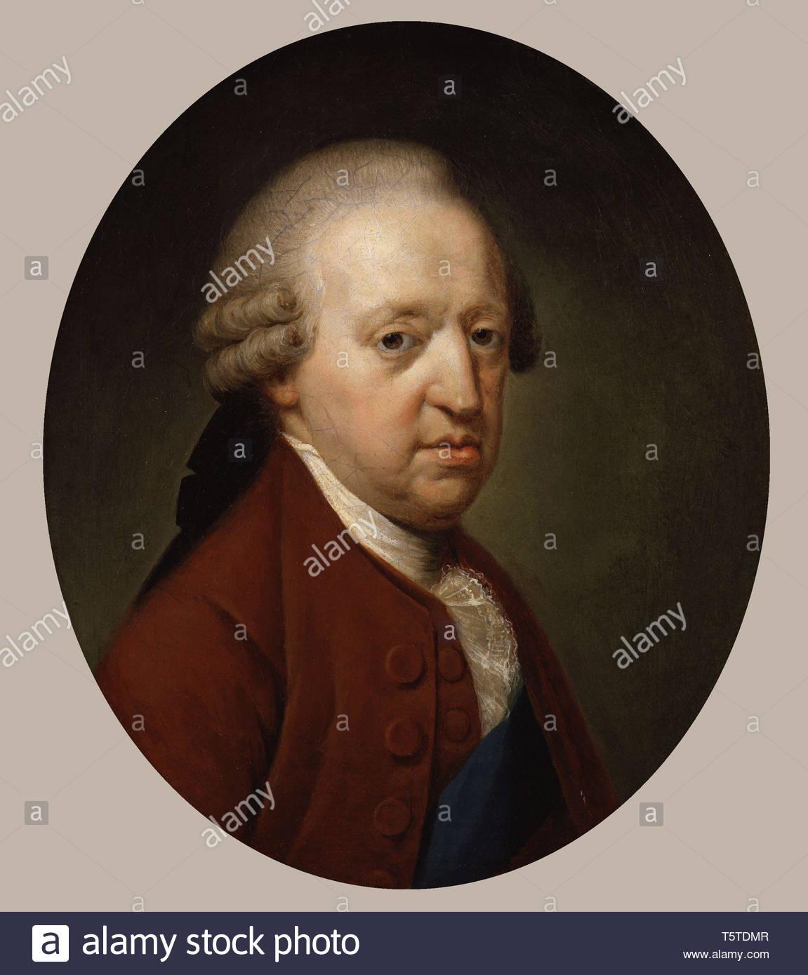 Prince Charles Edward Stuart - Hugh Douglas Hamilton - Stock Image