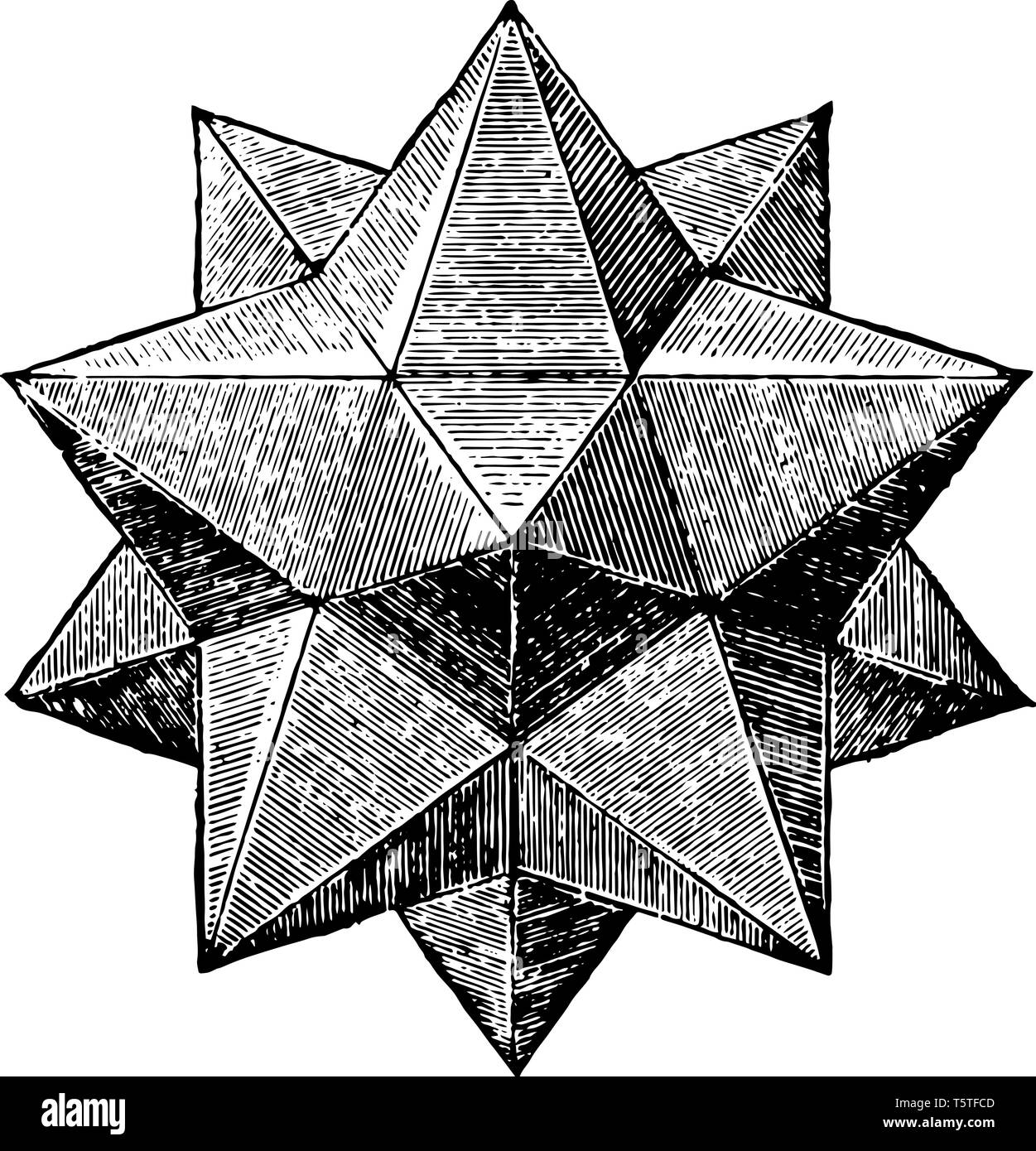 Stellated Dodecahedron High Resolution Stock Photography and Images - Alamy