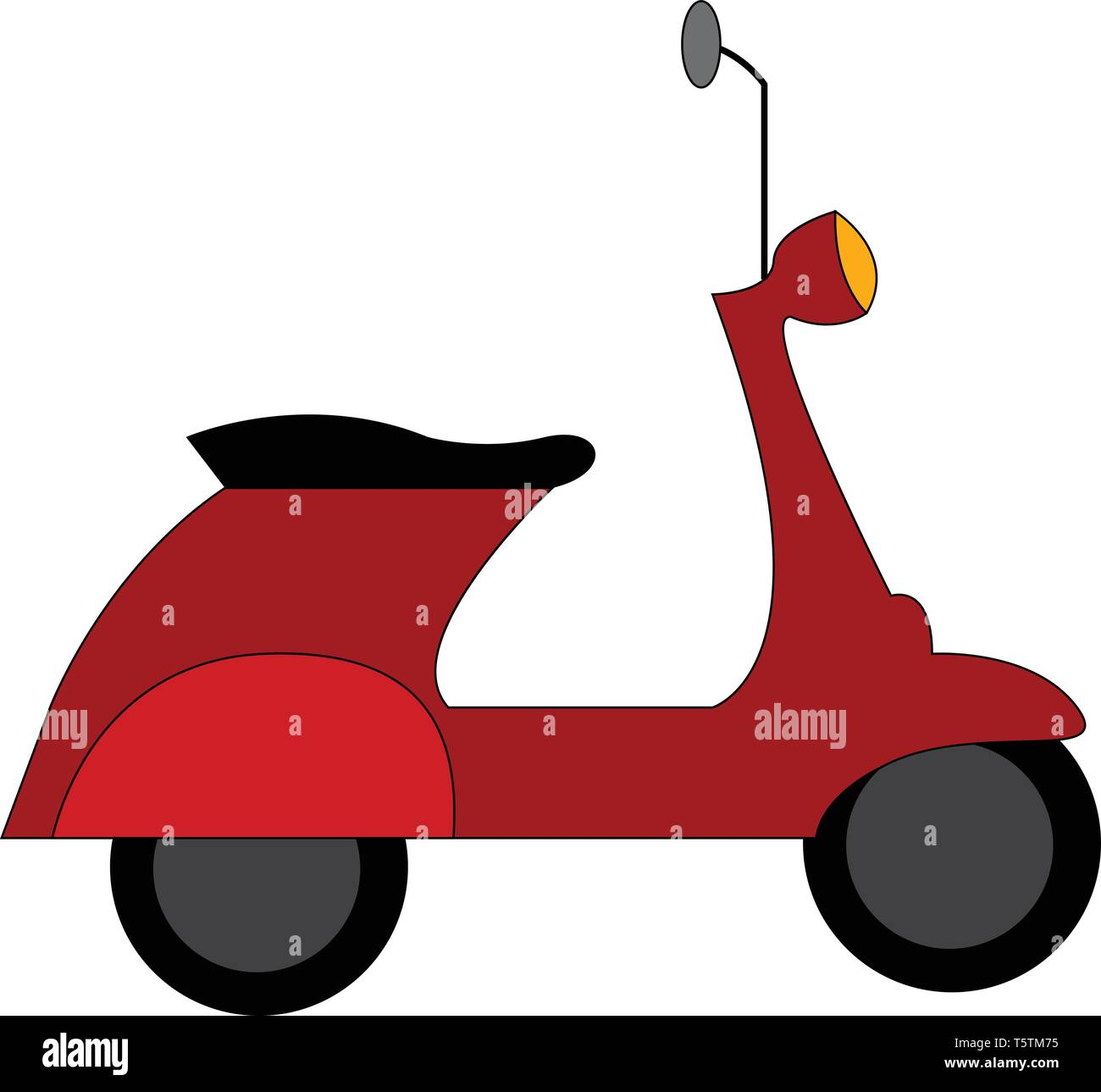 Vespa Vector Vectors High Resolution Stock Photography And Images Alamy