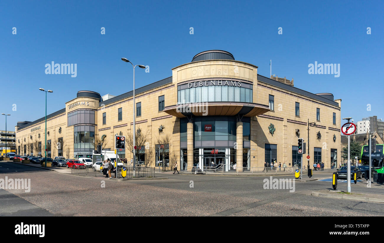 Department store Debenham in Overgate shopping centre Dundee Scotland UK - Stock Image