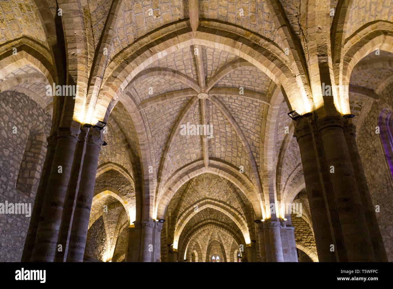Monasterio de Santo Toribio de Liébana - Stock Image