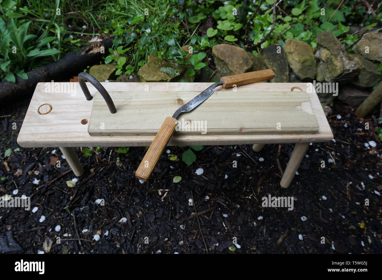 Bench Holdfast High Resolution Stock Photography And Images Alamy